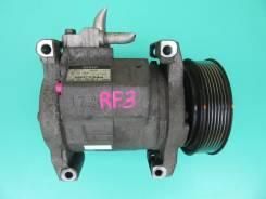 Компрессор кондиционера. Honda FR-V, BE3 Honda Edix, BE3, BE4, BE8 Honda Stream, RN3, RN4, RN5 Honda Stepwgn, RF3, RF4, RF5, RF6, RF7, RF8 D17A2, K20A...