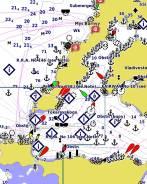 Морская карта Garmin BlueChart g2/g3 от фирменного магазина Garmin