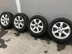 """Комплект летних колес для Toyota Rav-4. 7.0x17"""" 5x114.30 ET45 ЦО 60,1мм."""