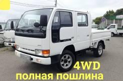 Nissan Atlas. 4WD, двухкабинник + борт, 2 700куб. см., 1 500кг., 4x4
