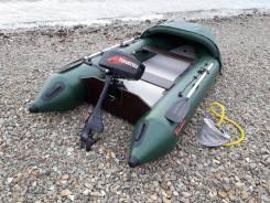 Лодку надувную Тайга-320 с мотором Tohatsu 3.5