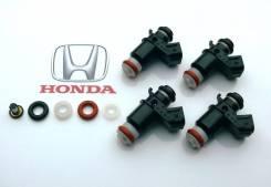 Комплект 4шт, Форсунка/Инжектор Honda 16450-PLC-003, (Оригинал)