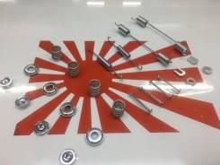 Комплект монтажных скобок задних барабанных колодок Nissan Sanny AD