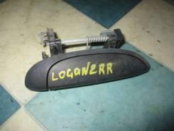 Ручка двери наружная Renault Logan 2008, правая задняя