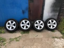 """Продам комплект колёс с летней резиной Honda Civic FD 4D. x16"""" 5x114.30"""