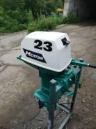 Мотор подвесной Нептун 23 в отличном состоянии с документами