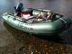 Лодка ПВХ Solar-350 с мотором Yamaha 15