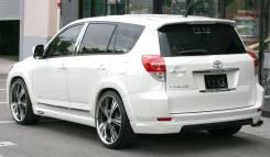 Накладка на бампер. Toyota Vanguard