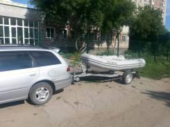 Продам лодку Rover Rib 310 Grey с прицепом