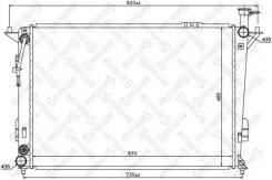 Радиатор системы охлаждения! АКПП\ Hyundai Santa FE 2.4i 10 10-25437-SX_ Stellox 1025437SX