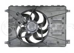 Вентилятор охлаждения радиатора с кожухом для а/м Ford Mondeo (07-) Luzar LFK1041