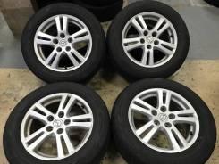 """Комплект литых колес Mazda 215/60R-16 c летней резиной 2015г. 6.5x16"""" 5x114.30 ET50 ЦО 67,0мм."""