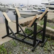 Стапель кильблок для катера 6м-7м