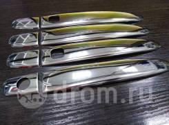 Накладки на ручки Nissan Note 12 Нержавеющая сталь