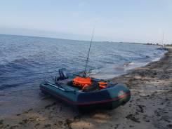 Лодка пвх хантер 320 нднд и мотор 9.8