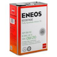 Eneos Ecostage. 0W-20, синтетическое, 4,00л.