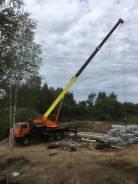 Услуги полноприводного автомобильного крана 25 тонн