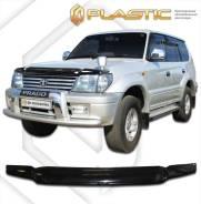 Дефлектор капота Toyota Land Cruiser J90; 95 1996-2002 (Мухобойка)