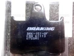 Тормозные колодки Braking 875SM1 CB X4 ZX7RR GTR ZZR GSX R GSF