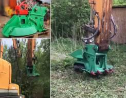 Измельчитель кустов и деревьев для экскаваторов до 25т