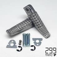 Коплект передних накладок для ног (Подножка) GSXR1300 GSXR600 750 GSXR1000 K1-L6, шт