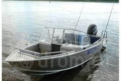 Катер Wyatboat-430 TDCM (салон-трансформер) c гидротоннелем