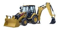 Заказать экскаватор погрузчик Caterpillar 428E/F с Гидромолотом и Без