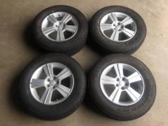"""Комплект колес Subaru 16 5*100 6,5J ET48 с резиной 215/70r16 Dunlop. 6.5x16"""" 5x100.00 ET48"""