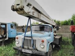 ГАЗ 53. Автовышка ВС-18 на Газ-53 в Омске., 4 250куб. см., 18,00м.