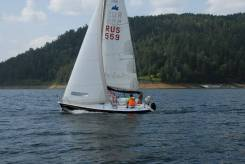 Продам парусную яхту. Длина 5,50м., 1996 год