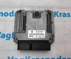 Компьютер двигателя эбу VW Golf 5 2.0 FSI BLX. Volkswagen Golf, 1K1 BLX