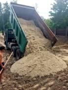 Доставка щебня, песка, гравия и т. д. Самосвалы