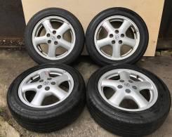 "Комплект колес на 16"" на летней резине Goodyear 205/55/16"