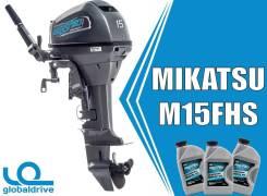 Корейский лодочный мотор Mikatsu M15FHS 2 т. Гарантия 5 ЛЕТ