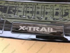 Накладка на бампер. Nissan X-Trail, HNT32, HT32, NT32, T32 MR20DD, QR25DE, R9M