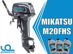 Корейский подвесной лодочный мотор Mikatsu M20FHS 2х. т
