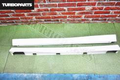 Пороги пластиковые (широкие, пара) Forester SF5 (51E) [Turboparts]