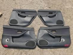 Дверные карты обшивки дверей Subaru Legacy be bh