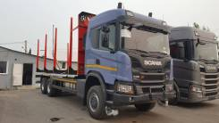 Сортиментовоз Scania G500B6X6HZ, 2020