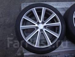 """Зимняя резина Dunlop 225/45R18 на литье Subaru 5x100R18. 7.5x18"""" 5x100.00 ET55 ЦО 56,1мм."""