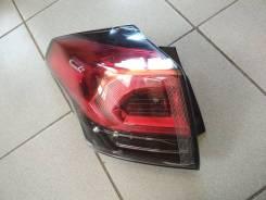 Фонарь внешний левый Toyota Rav 4 / Тойота Рав 4 (15-) LED