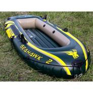 Лодка надувная Intex Seahawk 2. Отличное качество. Доставка