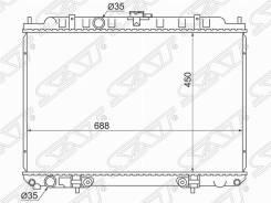 Радиатор Nissan Serena C24 / Bassara / Liberty / Rnessa QR20