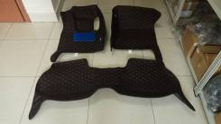 Коврики FD-045, BMW X6 2012 LH, черная экокожа