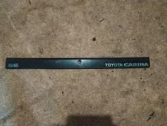 Вставка багажника. Toyota Carina, AT150, AT151, CT150, ST150 1SILU, 2CL, 3ALU, 4AELU
