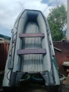 Продам лодку ПВХ Golfstream 430мм в комплекте с мотором Gladiator 15