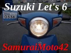 Suzuki Let's 6 EFI новая модель + ВИДЕО