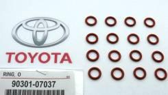 Кольцо форсунки/инжектора. Toyota 90301-07037*00, (Япония). Lexus: HS250h, RX330, NX200t, GS430, ES300, RC300, CT200h, ES300h, RX450h, LC500h, LS460L...