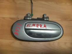 Ручка двери задней наружная правая Nissan Almera Classic 2006 (Ручка двери задней наружная правая) [8260695F0B]