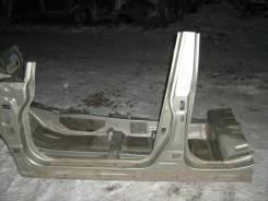Порог со стойкой левый Nissan Tiida 2007-2014 (Порог со стойкой левый) [76031EL130]